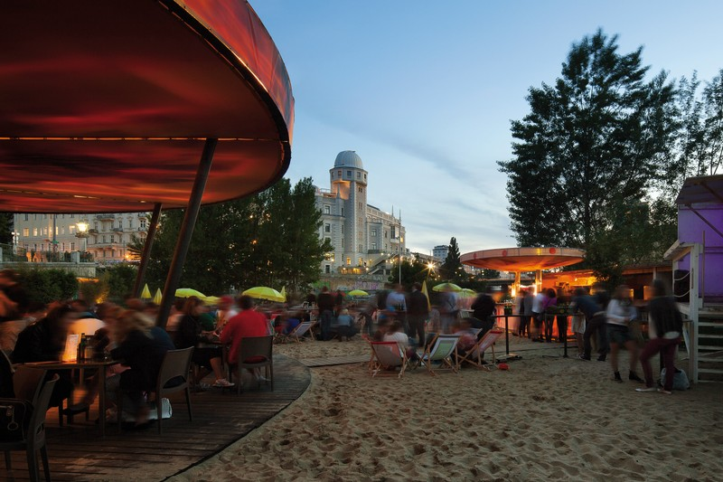 beach bar vienna, beach bar danube canal, strandbar herrmann