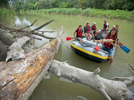 Boat trip in the National Park